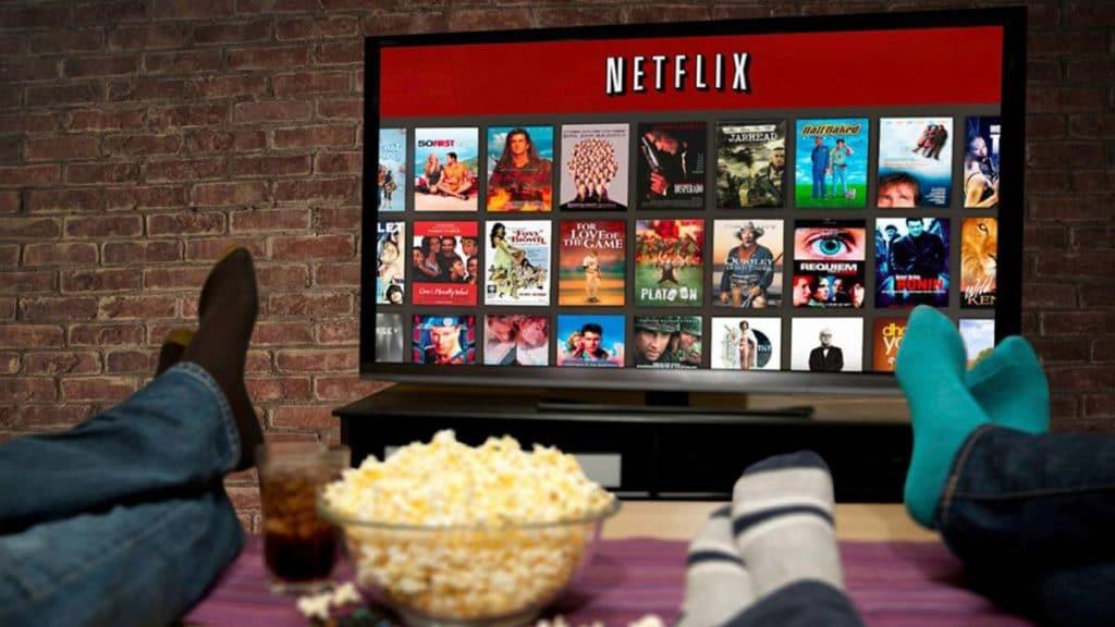 historia de la televisión en Internte Netflix