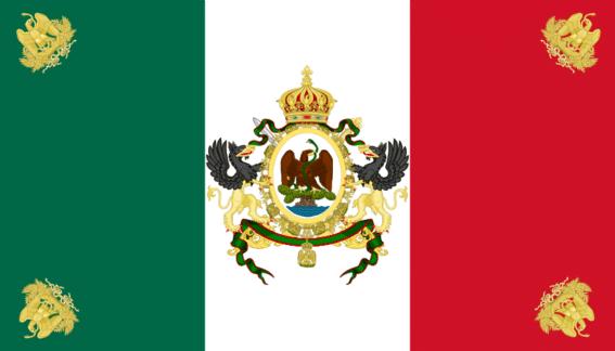 Sexta bandera de la historia de México