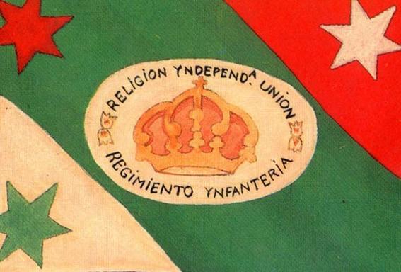 Tercera bandera de la historia de México
