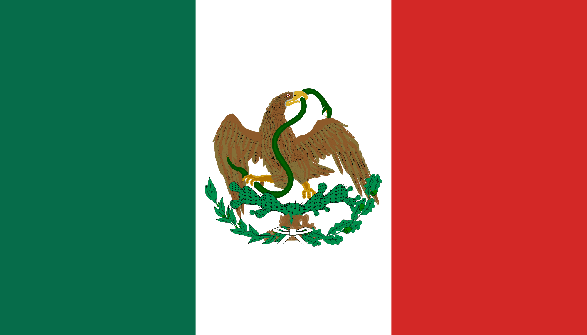Quinta bandera de la historia de México