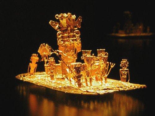 historia del oro, museo