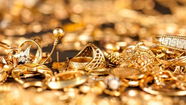 historia del oro joyas