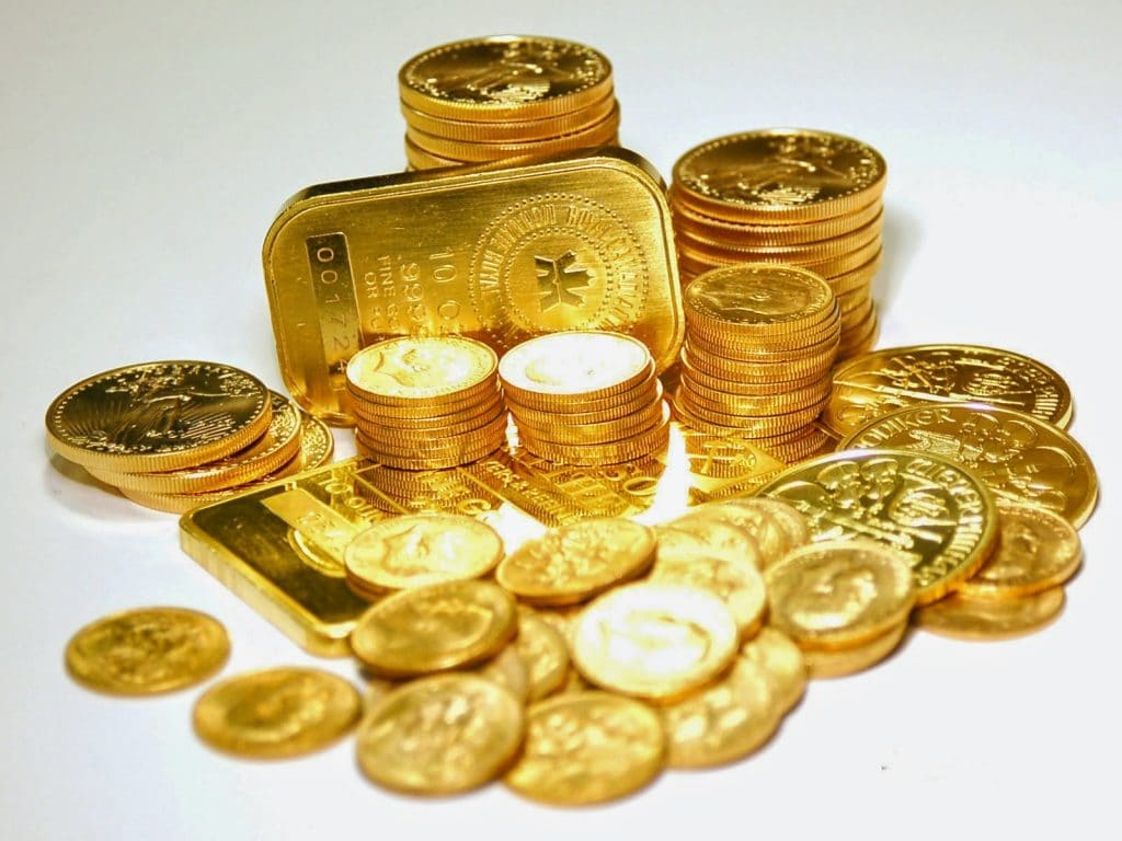 historia del oro, moneda
