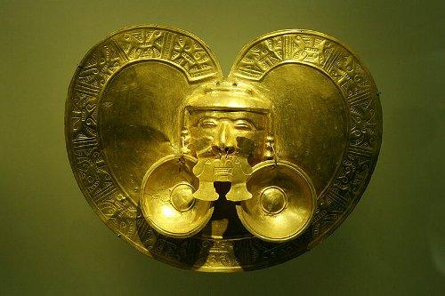 historia del oro, museo en Bogotá