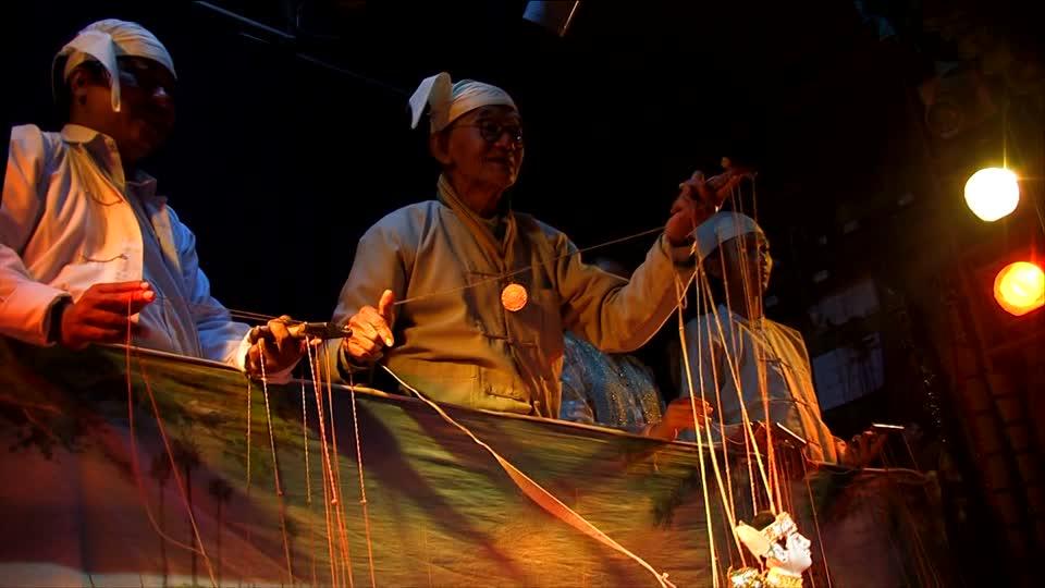 presentación de la historia del teatro de títeres