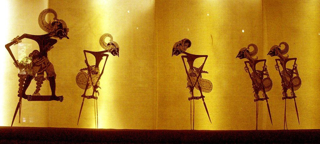 historia del teatro de títeres, sombras