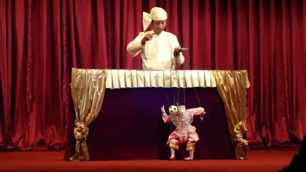 historia del teatro de marionetas, presentación