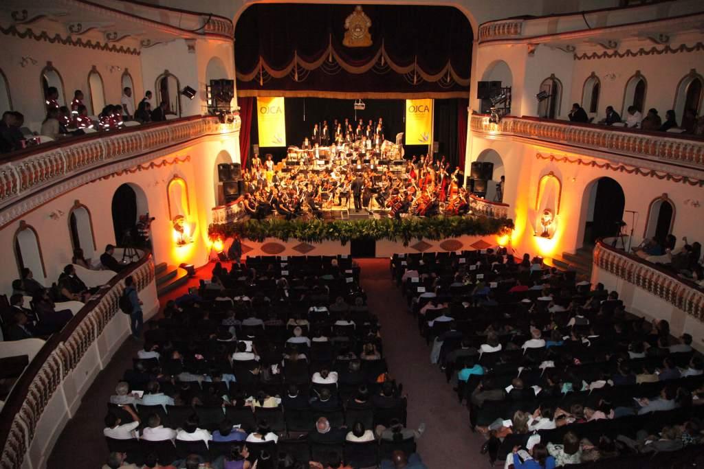 historia del teatro en Honduras, presentación