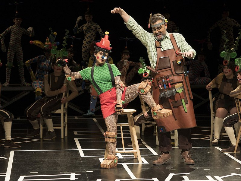 historia del teatro infantil, pinocho