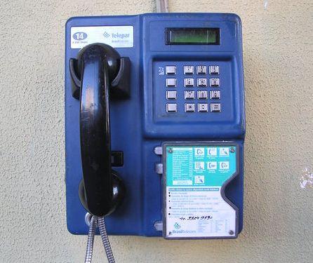 historia del telefono público