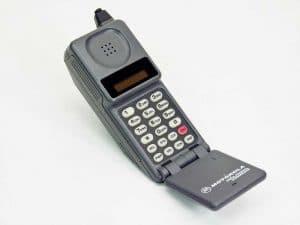 Historia del teléfono celular segunda generación