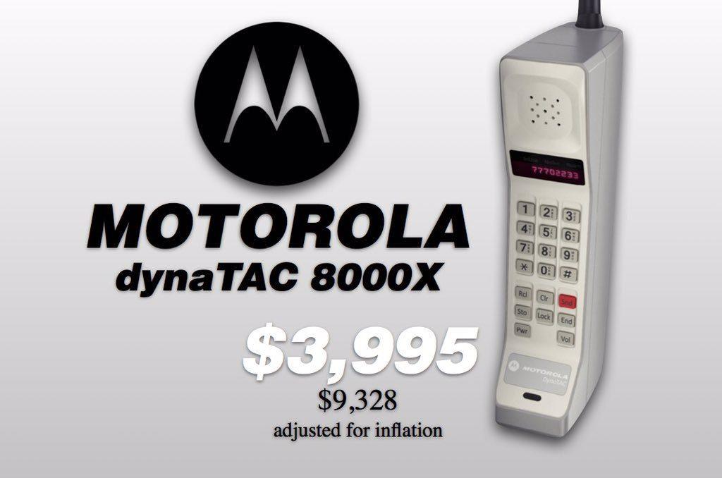 precio del Motorola DynaTAC 8000X