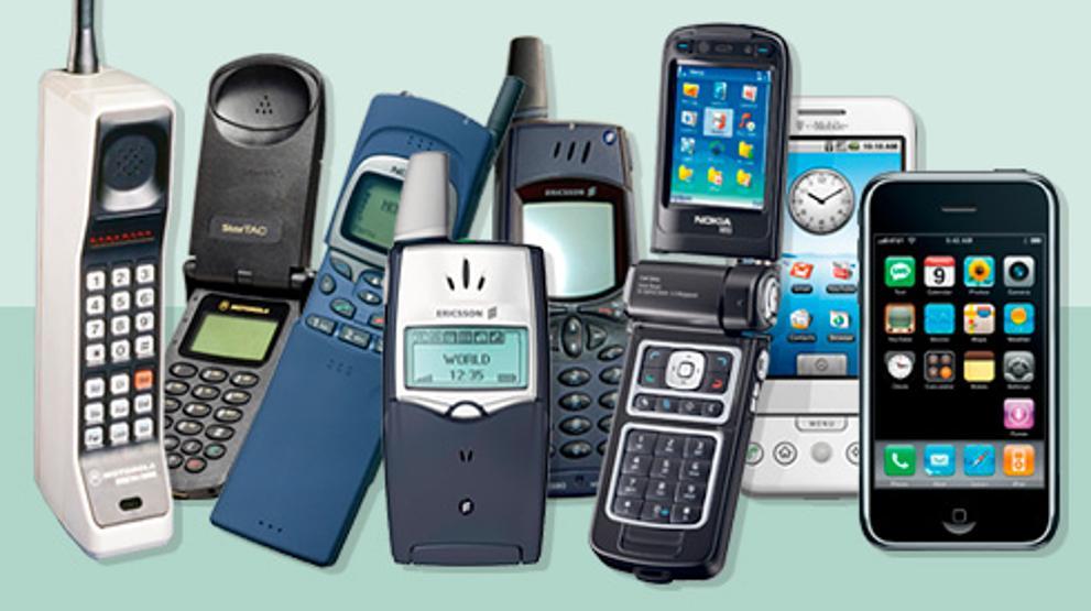 Historia del teléfono celular generaciones