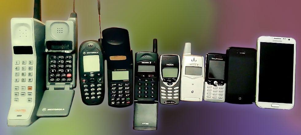 evolucion de la telefonía móvil