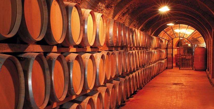 almaceenamiento del vino