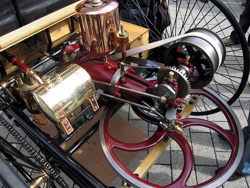 historia del motor de combustion