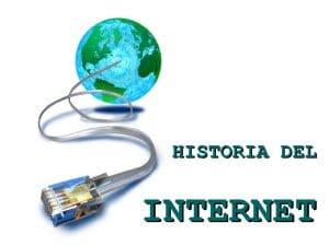 Cronología de la historia del internet