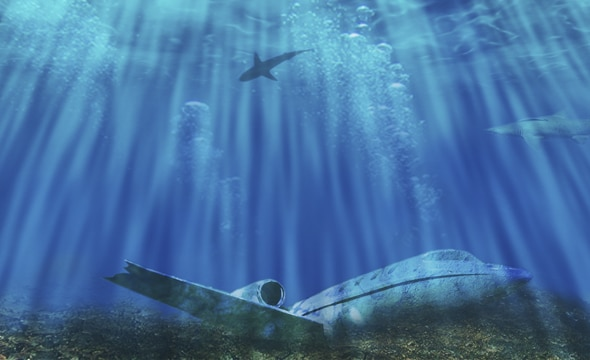 misterio aviones caidos
