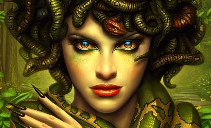 Historia de Medusa-Medusa