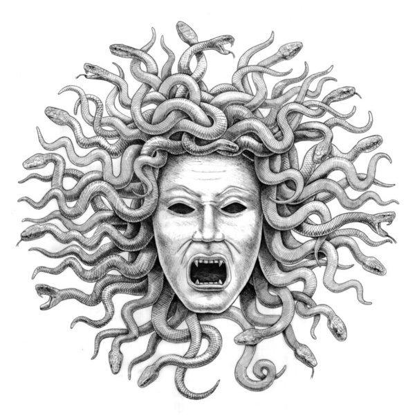 Historia de Medusa-Serpientes