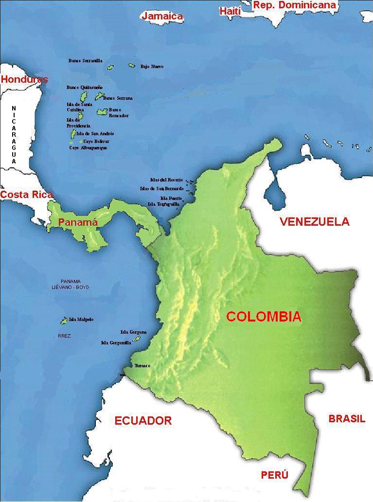 Historia de Panamá-Panamá y Colombia