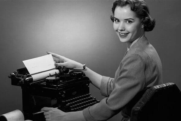 hhistoria de la maquina de escribir