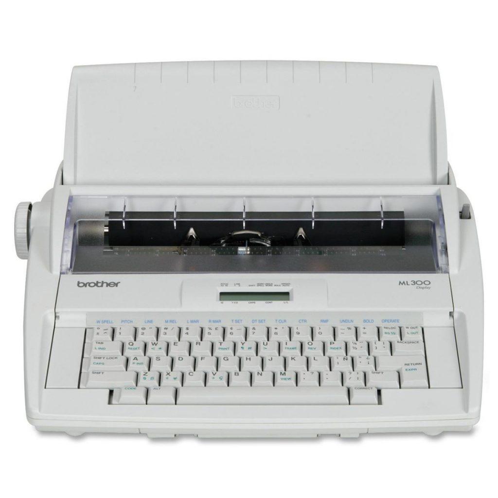 historia maquina de escribir brother