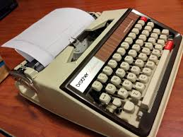 historia de la maquina de escribir brother