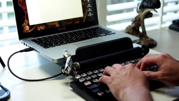 de la maquina de escribir al computador