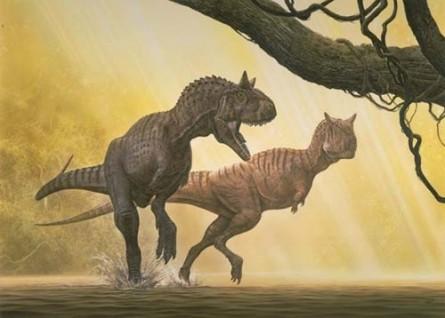 historia de los dinosauros en el tiempo
