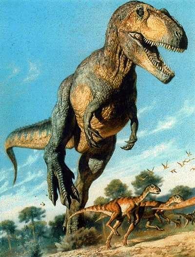 historia de os dinosaurios