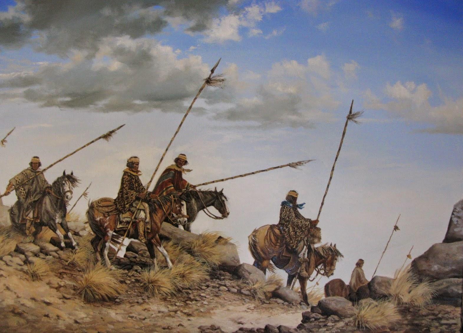 Historia de los indios-Indios Pampas