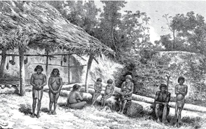 Historia de los indios-Indios Quiriquire