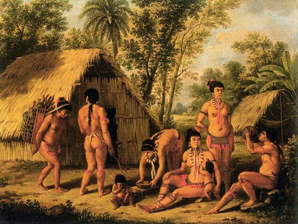 Historia de los indios-Indios Cumanagotos
