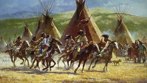 Historia de los indios-Indios Americanos