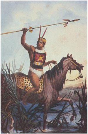 Historia de los indios-Indios Churruas