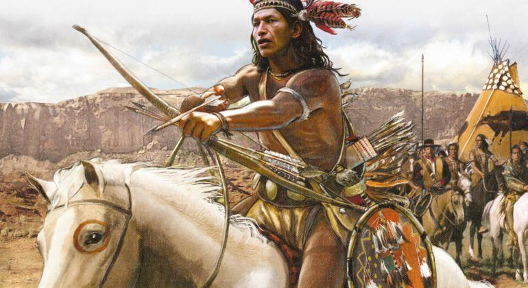 Historia de los indios-Indios Comanches
