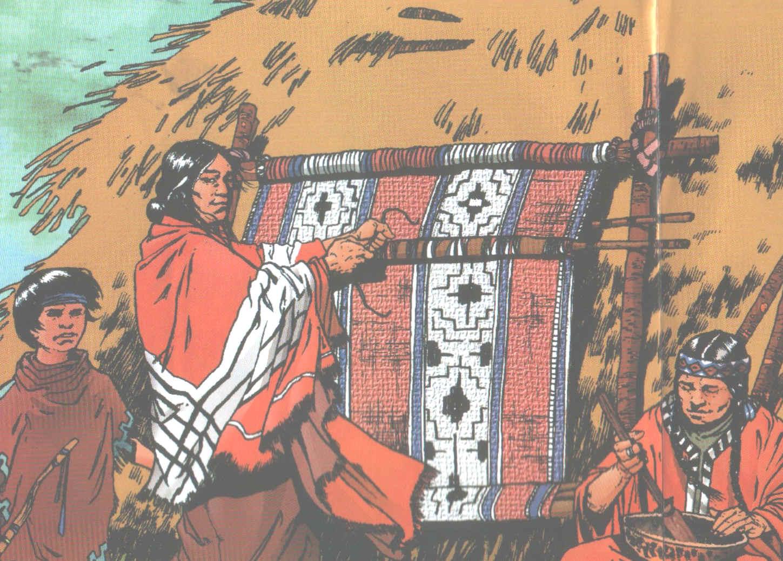 Historia de los indios-Indios Comechingones