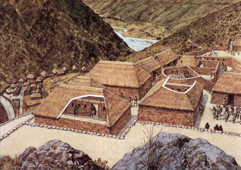 Historia e los indios-Indios Incas