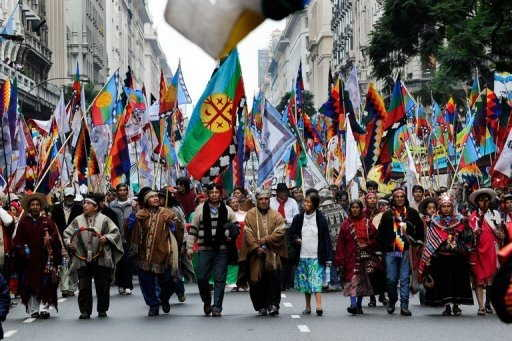 Historia de los indios-Indios en Argentina