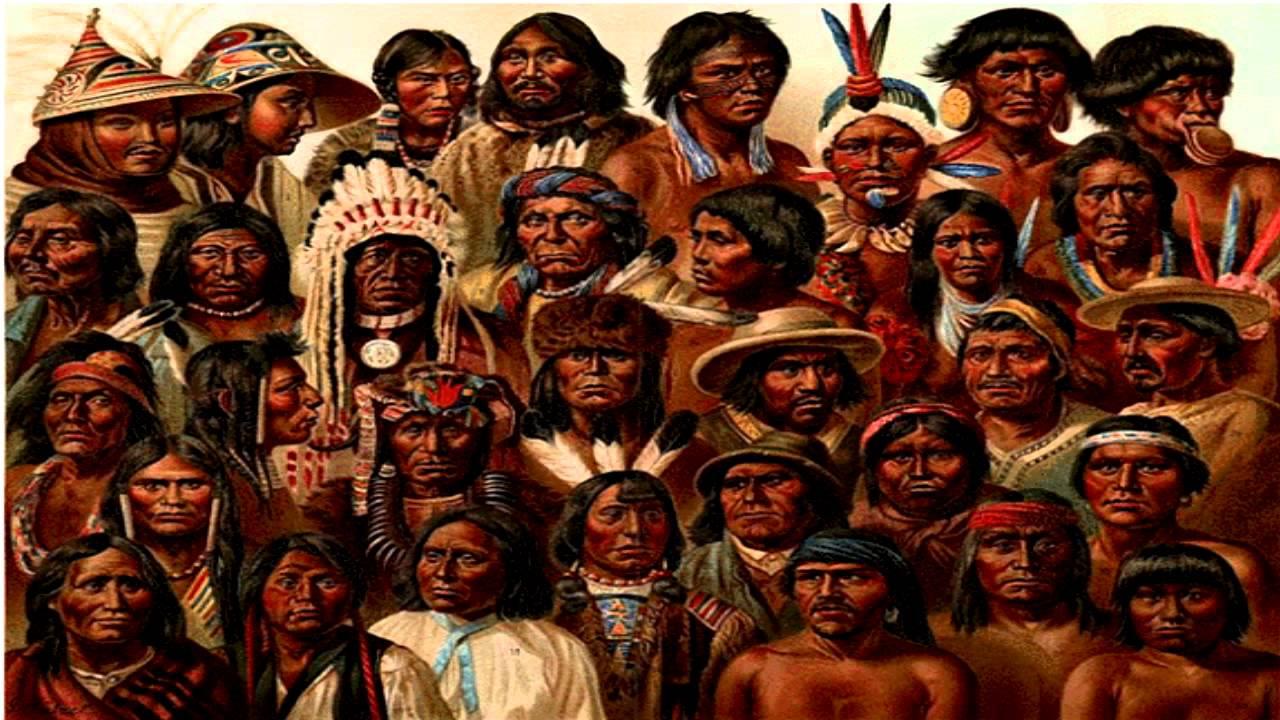 Historia de los indios-Indios del mundo