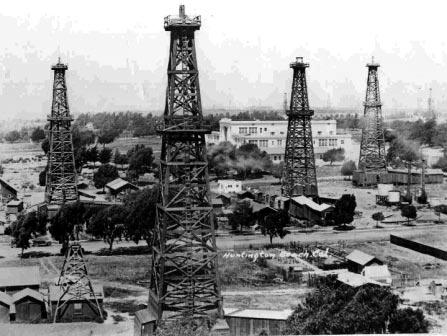 Historia del petróleo-Origen