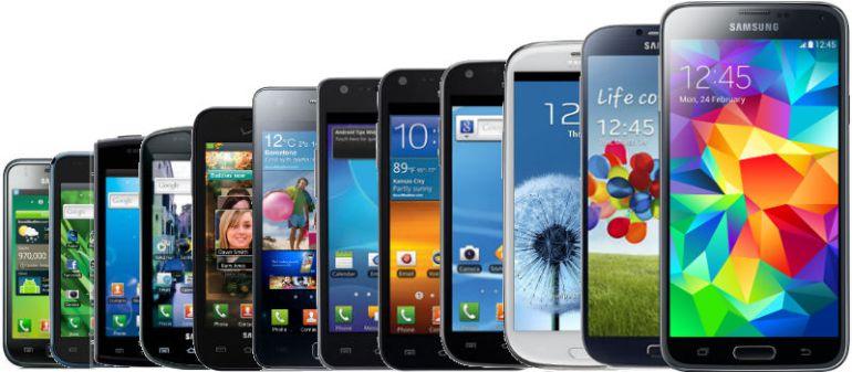 historia de Samsung telefonos