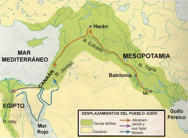 historia de Israel. Canaán