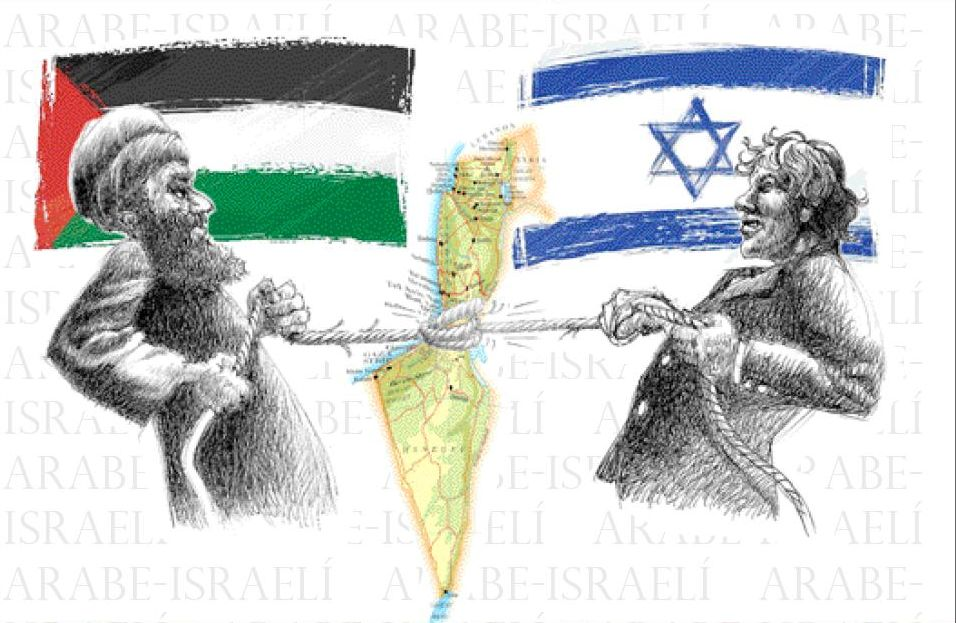 historia de israel Palestina