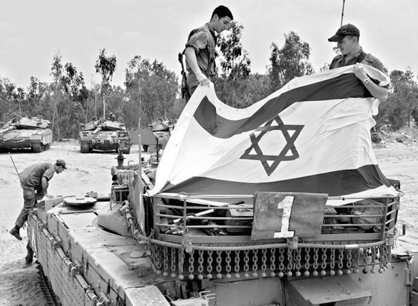historia de israel y palestina