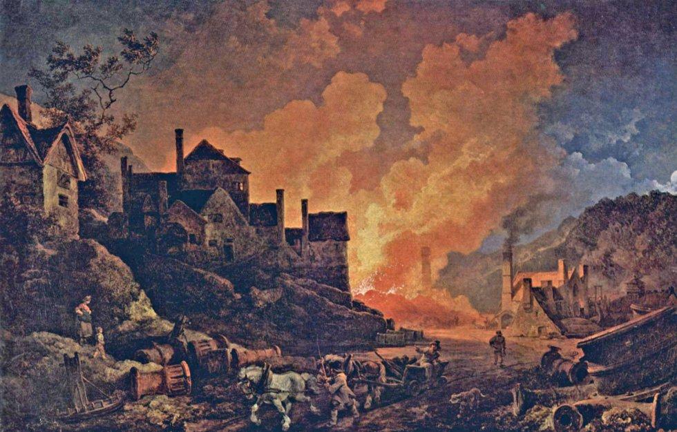 Coalbrookdale de noche