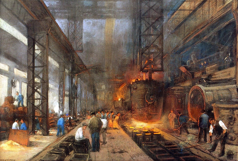 revolución industria y el comercio