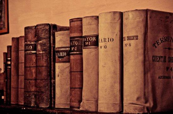 antiguos libros de contabilidad