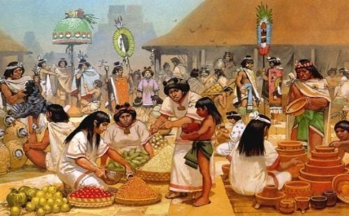 comercio en las civilizaciones precolombinas